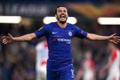 Дубль Педро помог «Челси» обыграть «Славию» и выйти в полуфинал Лиги Европы