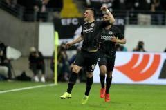 «Айнтрахт» обыграл «Бенфику» и пробился в полуфинал Лиги Европы