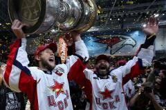 ЦСКА – машина, Никитин и Хартли – гении, а Гусев – лучший. Все итоги КХЛ