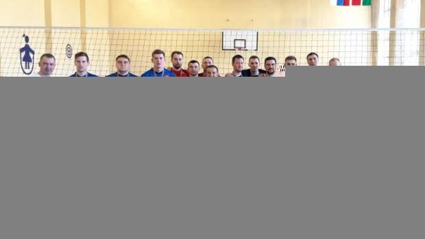 Сабинские спортсмены стали победителями Сельской спартакиады по волейболу