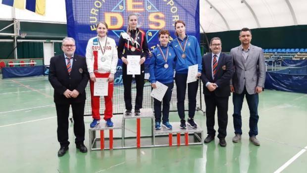 Татарстанская спортсменка завоевала 4 медали чемпионата Европы по настольному теннису