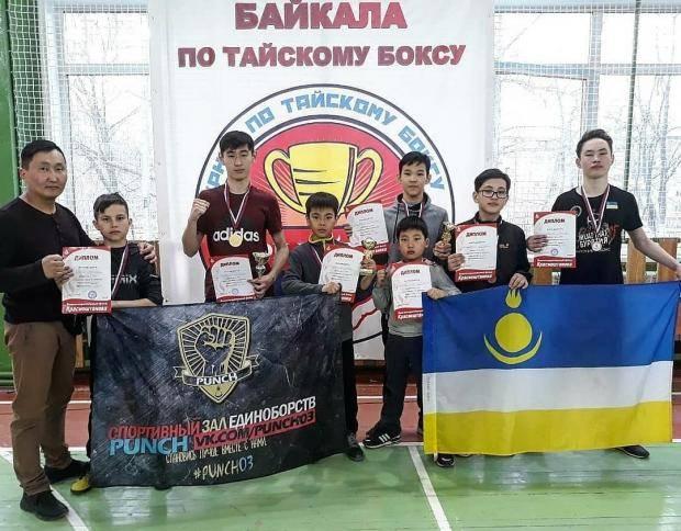 7 медалей завоевали тайбоксеры Бурятии на Кубке Байкала