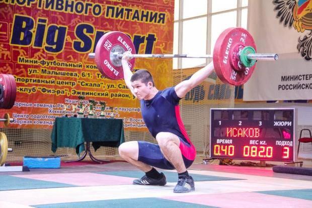 В Сыктывкаре IX летняя Спартакиада учащихся России начнется с первенства СЗФО по тяжелой атлетике