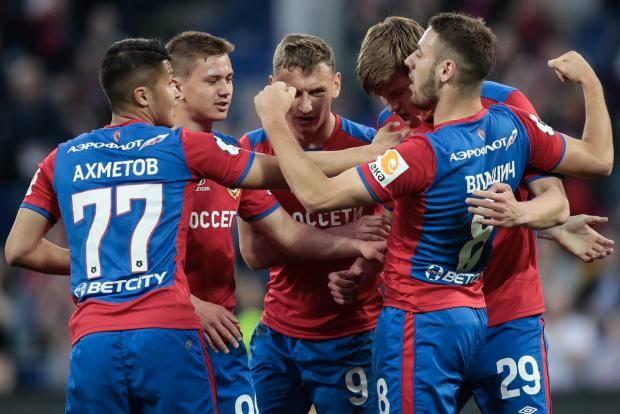 ЦСКА одержал победу над «Анжи» и вышел на третье место в РПЛ