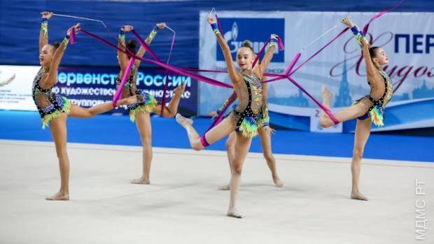 В Казани пройдет чемпионат России по художественной гимнастике в групповых упражнениях