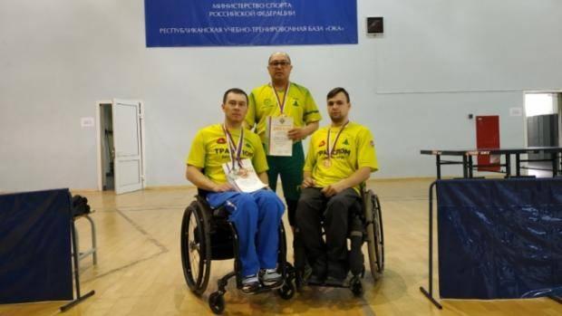 Раиль Галиакберов завоевал две медали чемпионата России по настольному теннису среди лиц с ПОДА