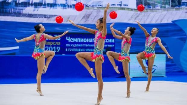 В Казани стартовал чемпионат России по художественной гимнастике