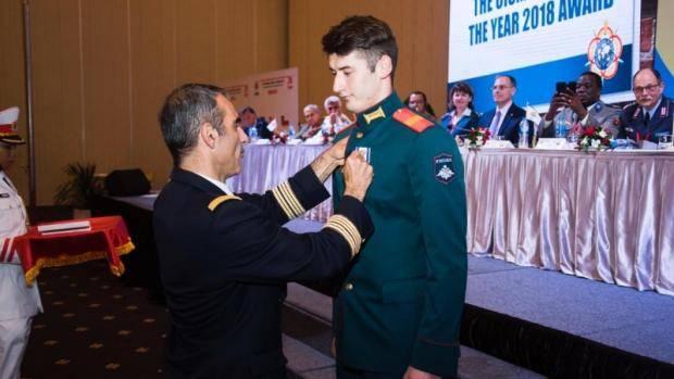 Рафаэль Камалов награжден премией «Спортсмен года 2018» по версии CISM