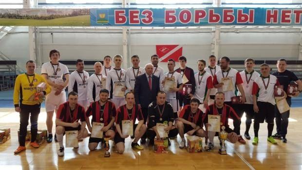 В поселке Высокая Гора разыграли Кубок Министра транспорта и дорожного хозяйства РТ по мини-футболу