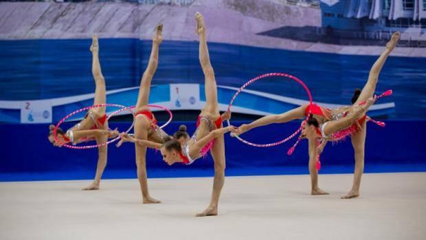 Сборная РТ по художественной гимнастике завоевала «бронзу» чемпионата России в групповых упражнениях