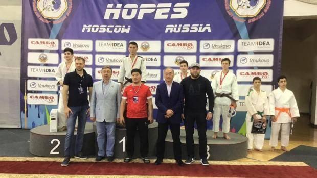 Елабужанин Булат Хузеев выиграл «бронзу» Международного турнира по дзюдо в Москве