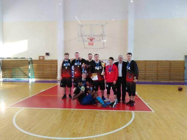 «Nika» стала чемпионом Сахалинской Баскетбольной Лиги среди мужских команд