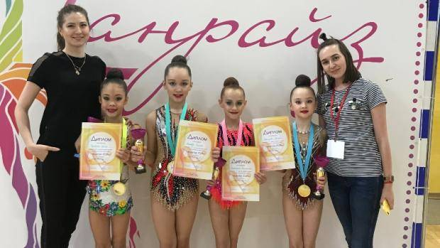Воспитанницы ФСО «Спартак-Татарстан» приняли участие в клубном турнире по художественной гимнастике
