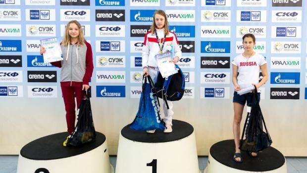 Челнинцы приняли участие во Всероссийских соревнованиях по плаванию «Веселый дельфин»