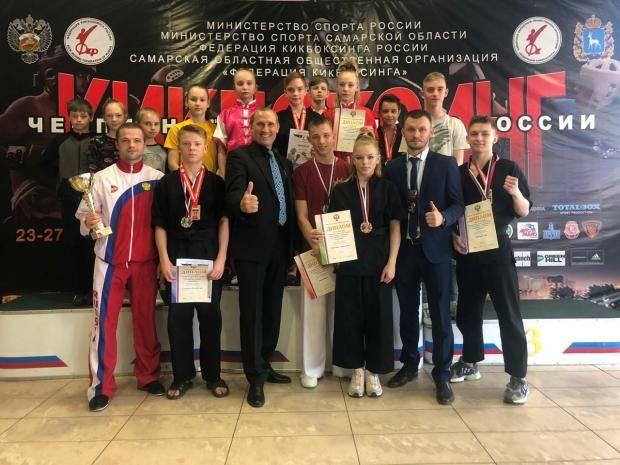Вологжане завоевали 21 медаль чемпионата и первенства России по кикбоксингу