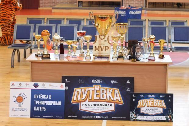 В Ивановской области подвели итоги баскетбольного сезона