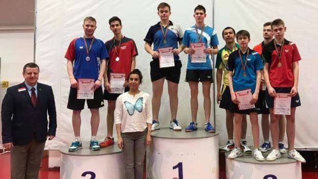В Казани подвели итоги чемпионата РТ по настольному теннису