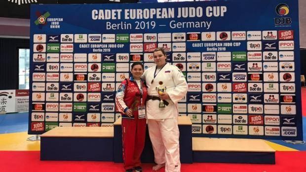 Александра Загирова завоевала «бронзу» Кубка Европы по дзюдо среди кадетов