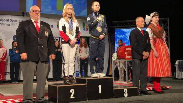 Екатерина Жильцова завоевала «серебро» на первенстве Европы по пауэрлифтингу среди юниорок до 23 лет