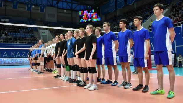 Фарид Мухаметшин дал старт финальному этапу Школьной волейбольной лиги