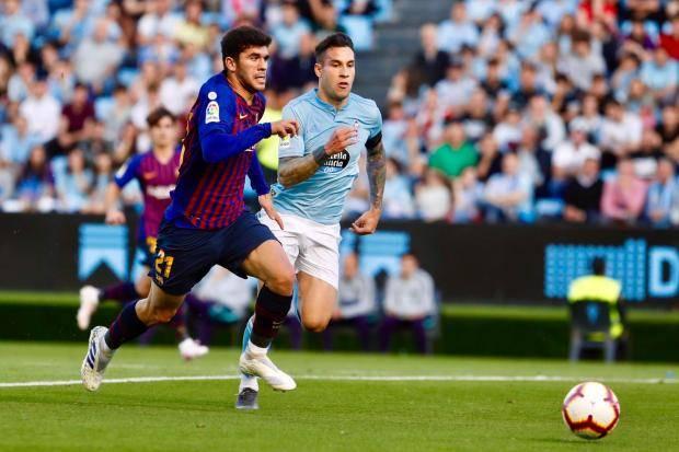 «Барселона» в гостях проиграла «Сельте»