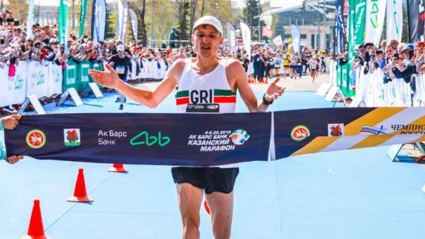 Татарстанец Степан Киселев – чемпион России по марафону
