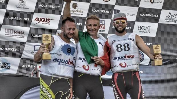 Казанец Александр Курашмин – третий на этапе чемпионата Европы по аквабайку
