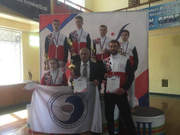 6 вологодских каратистов вышли в финал Спартакиады учащихся 2019 года