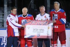 Путин забросил восемь шайб в Гала-Матча VIII Фестиваля!