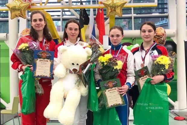 Мария Синер выиграла бронзу первенства России по фехтованию