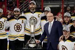 «Каролина» – все. «Бостон» вышел в финал Кубка Стэнли впервые с 2013 года