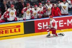 Пятая победа! Сборная России одолела латвийцев благодаря голам Орлова и Гусева