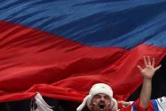 Сборная России вышла вперед в матче с Латвией, проигрывая 0:1 после первого периода