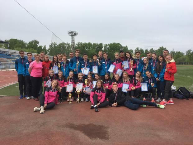 Сахалинские легкоатлеты стали лучшими на всероссийских состязаниях