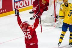 Сборная России обыграла Швецию в заключительном матче группового этапа ЧМ-2019