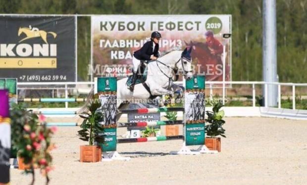 Омские конкуристы успешно выступили на первенстве страны