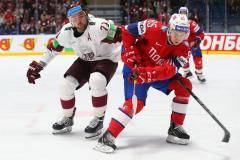 Сборная Латвии одержала победу над командой Норвегии