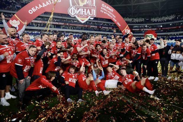 ВИДЕО ДНЯ: «Локомотиву» вручили Кубок России
