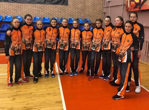 Баскетболистки ивановской школы № 4 вошли в восьмерку сильнейших команд России