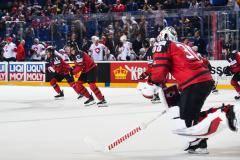 Канада была в 0,4 секунды от вылета. Мы увидели огненные четвертьфиналы