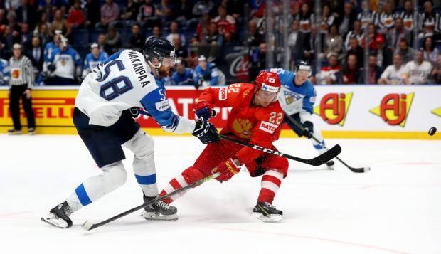 Сборная России уступила команде Финляндии в полуфинале чемпионата мира