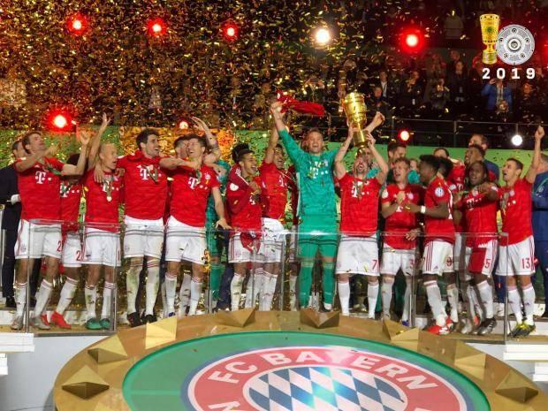 «Бавария» разгромила «РБ Лейпциг» и в 19-й раз завоевала Кубок Германии