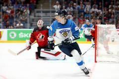 Сборная Финляндии обыграла Канаду в финале чемпионата мира