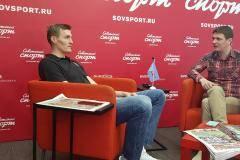 Президент РФБ Андрей Кириленко в гостях у «Советского спорта»