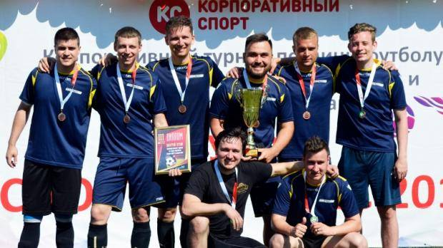 Команда Министерства спорта РТ заняла третье место в футбольном турнире «Спорт и бизнес 2019»