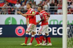 Россия с минимальным счетом обыграла Кипр в отборочном матче ЧЕ-2020