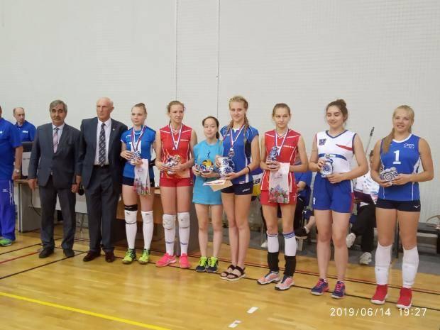 Команда девушек ивановской школы № 66 стала бронзовым призером Всероссийских соревнований