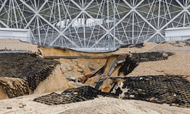 «Тамбов» примет «Спартак» в Саранске из-за затопленного стадиона (видео)