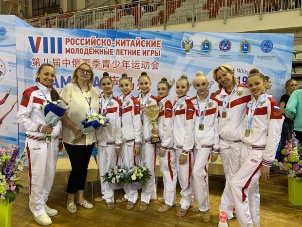 Омские гимнастки снова в «золоте»!