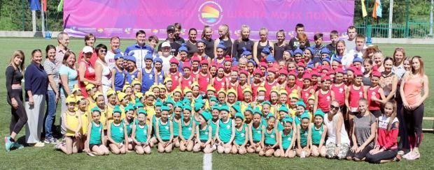В спортивном лагере «Родничок» прошел Олимпийский день
